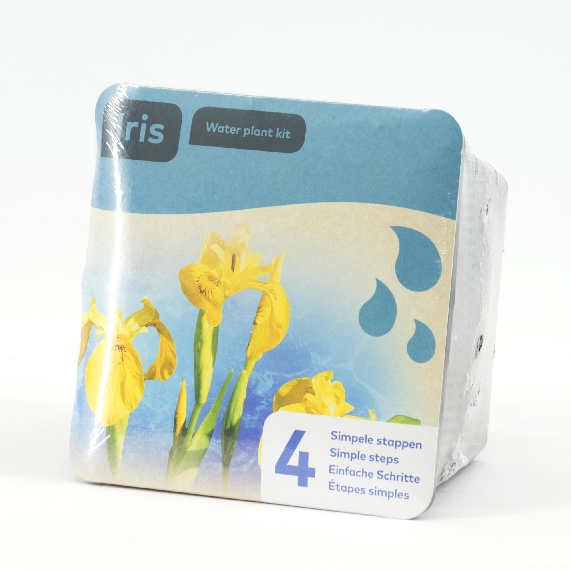 B 20930 Droogverpakking waterpl gele Iris 20180320121006